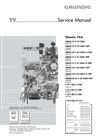 Service Manual Grundig Chassis 12.6