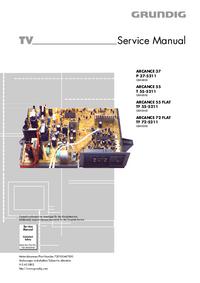 Instrukcja serwisowa Grundig ARCANCE 55 T 55-5211