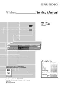 Service Manual Grundig GDV 120