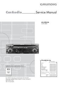 Service Manual Grundig EC 4790 CD