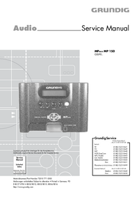 Manual de servicio Grundig MPAXX MP 150