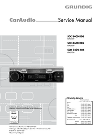 Manual de servicio Grundig SCC 3460 RDS