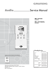 Manual de servicio Grundig MPAXX SP 4101