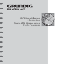 User Manual Grundig MINI WORLD 100PE