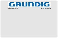User Manual Grundig YACHT BOY 400 PE