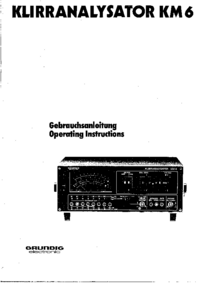 Grundig-4003-Manual-Page-1-Picture
