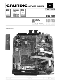 Service Manual Grundig ST 55 - 750 Text