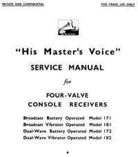 Manual de servicio HMV 181