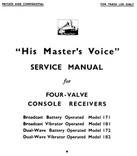 Service Manual HMV 182