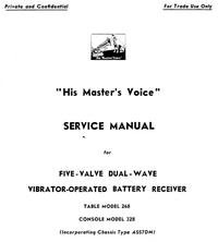 Service Manual HMV 328
