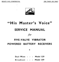 Instrukcja serwisowa HMV 329