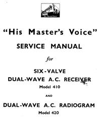 Service Manual HMV 420
