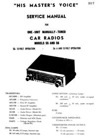 Manuale di servizio HMV S5