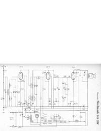 Схема Cirquit Hagenuk Nordmark 249GW