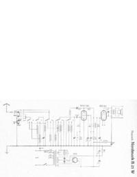 Diagrama cirquit Hagenuk Nordmark B 21 W