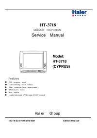 Manuale di servizio Haier HT-3718 (CYPRUS)