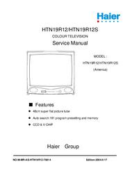 Serviceanleitung Haier HTN19R12S
