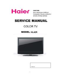 Serviceanleitung Haier HL42R