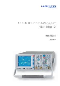 Manual de serviço Hameg HM1008-2