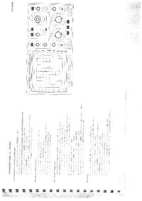 Manuale di servizio, diagramma cirquit solo Hameg HM203