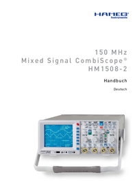 Bedienungsanleitung Hameg HM1508-2