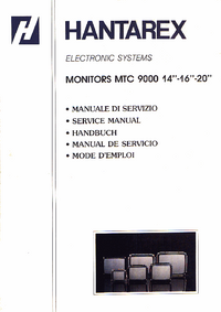 Service Manual Hantarex MTC 9000