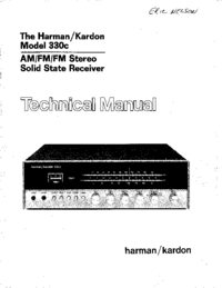 Service Manual HarmanKardon 330C