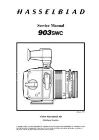 Instrukcja serwisowa Hasselblad 903SWC
