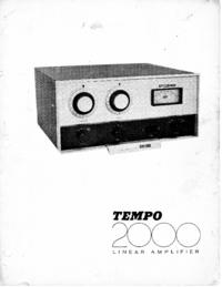 Service et Manuel de l'utilisateur Henry Tempo 2000