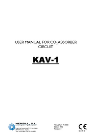 Manuale d'uso Hersill KAV-1