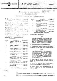 Manual de serviço HewlettPackard 608E