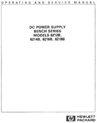 Service-en gebruikershandleiding HewlettPackard 6216B