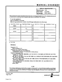Руководство по техническому обслуживанию дополнения HewlettPackard 141T