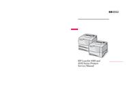 Manual de servicio HewlettPackard LaserJet 4000 Series