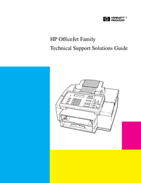Service Manual HewlettPackard OfficeJet