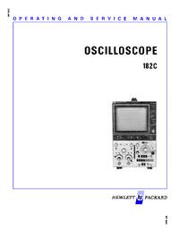 Servizio e manuale utente HewlettPackard 182C
