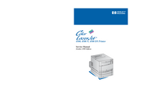 Manual de servicio HewlettPackard Color LaserJet 4500 DN