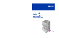 Manual de servicio HewlettPackard Color LaserJet 8500