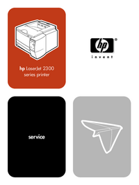 Manual de servicio HewlettPackard LaserJet 2300n