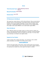 HewlettPackard-3708-Manual-Page-1-Picture