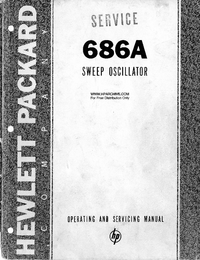 Serwis i User Manual HewlettPackard 686A