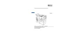 manuel de réparation HewlettPackard LaserJet 8100 DN
