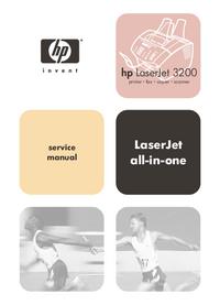 Service Manual HewlettPackard LaserJet 3200