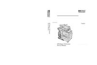 Instrukcja serwisowa HewlettPackard Mopier 320 System