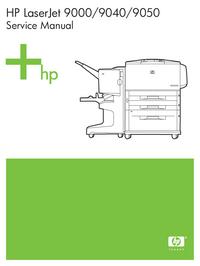 Instrukcja serwisowa HewlettPackard LaserJet 9040
