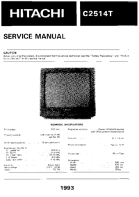 Hitachi-427-Manual-Page-1-Picture