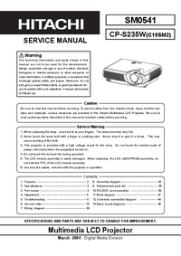 Hitachi-5623-Manual-Page-1-Picture