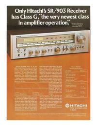 folha de dados Hitachi SR903