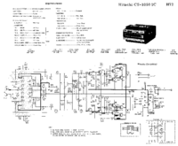 Diagrama cirquit Hitachi CS-1050