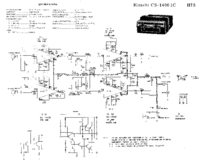 Cirquit diagramu Hitachi CS-1400